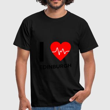 I Love Edinburgh - I love Edinburgh - Men's T-Shirt