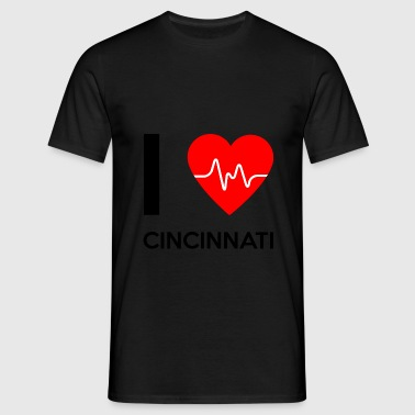 I Love Cincinnati - I love Cincinnati - Men's T-Shirt