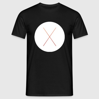 x design - Men's T-Shirt