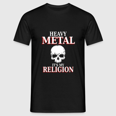 Heavy Metal - C'est ma religion - nation headbang - T-shirt Homme