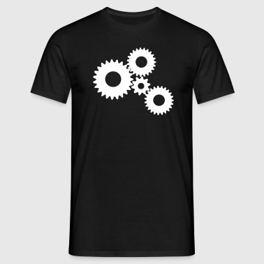 Gears / Gear / Gear - Men's T-Shirt