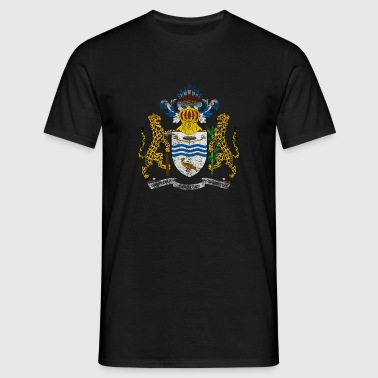 Guyanese Coat of Arms Guyana Symbol - Men's T-Shirt