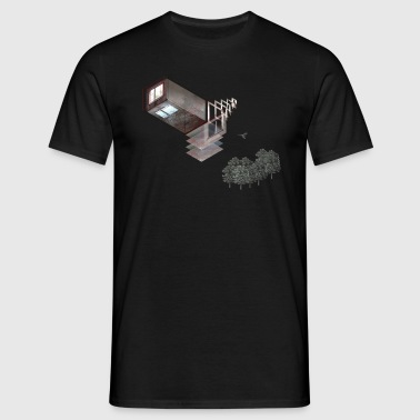 Prora Solitary Collage - Men's T-Shirt