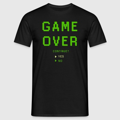 Game Over. Continue? YES - NO - Men's T-Shirt