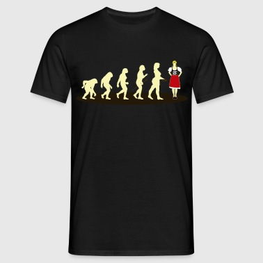 dirndl EVOLUTION - Herre-T-shirt