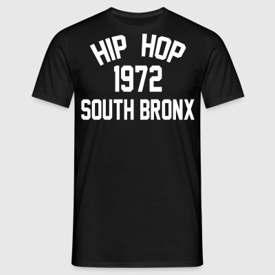 Hip Hop South Bronx 1972 - Herre-T-shirt