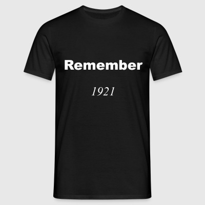 Remember 1921 Vit T-Shirt - T-shirt herr