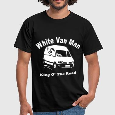 Van White Van Man For Dark Shirts - Men's T-Shirt