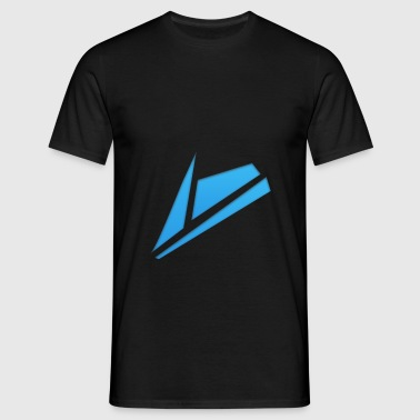Blue Design - Männer T-Shirt