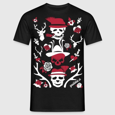 alpen skull.svg - Men's T-Shirt