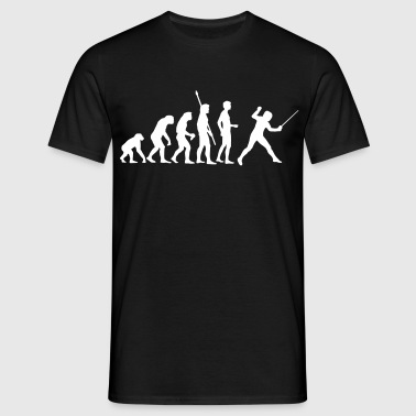 evolution_fechter_a - Men's T-Shirt