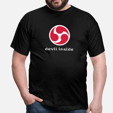 Bdsm Devil 666 - Six Six Six Wheel Symbol 1.2c - Männer T-Shirt