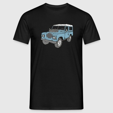 Land Rover Landie 4x4 Off Road Series 3 88 - Men's T-Shirt