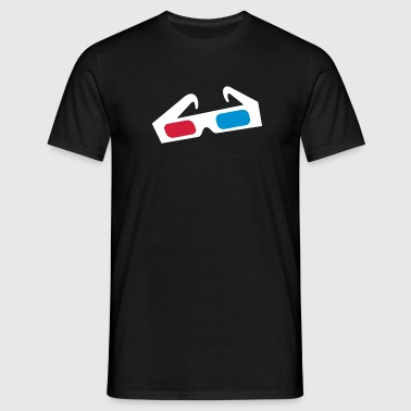 3d glasses brille - Men's T-Shirt