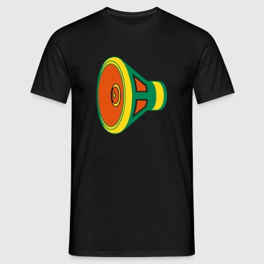 Dreadlock Sub Woofer - Men's T-Shirt