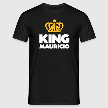 King mauricio name thing crown - Men's T-Shirt