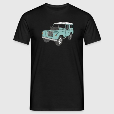 Landie 4x4 Off-Road Series 2 88 Classic - Men's T-Shirt