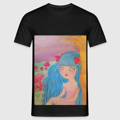pastel hair - Mannen T-shirt