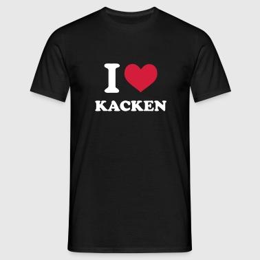 suchbegriff 39 i love kacken 39 t shirts online bestellen. Black Bedroom Furniture Sets. Home Design Ideas