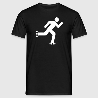 rollerblade_icon - T-shirt Homme