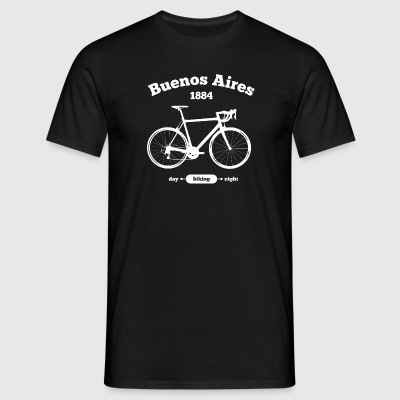 Vélo Buenos Aires - T-shirt Homme