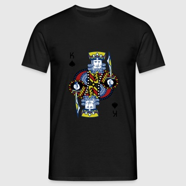King of Spades Poker Hold'em - Herre-T-shirt