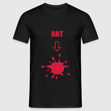 Art, arts - Men's T-Shirt