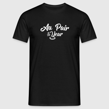 au pair of the year 2107 2018 2019 - Men's T-Shirt