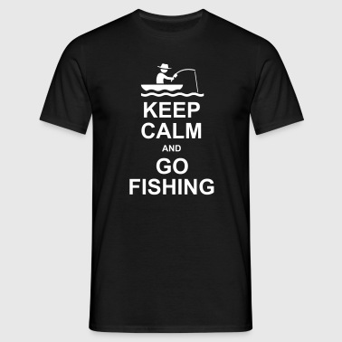 GO FISHING - Men's T-Shirt
