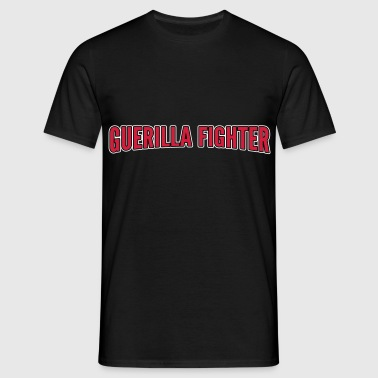 guerilla fighter - Herre-T-shirt