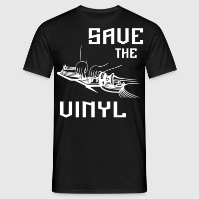 Save the vinyl - Men's T-Shirt