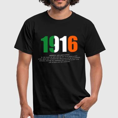 Shop easter 1916 gifts online spreadshirt 1916 easter rising and proclamation mens t shirt men39s t negle Images