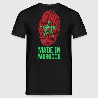 Made in Marocko / gjort i Marocko المغرب - T-shirt herr