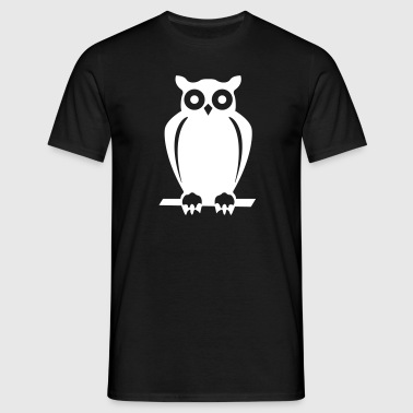 Conservation Owl  - Men's T-Shirt