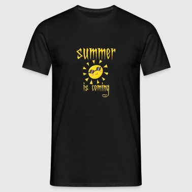Summer is coming - Men's T-Shirt