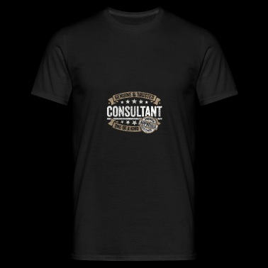 Consultant Premium Quality Approved - Mannen T-shirt