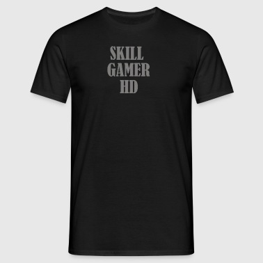 Skill merch - Herre-T-shirt