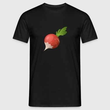 Delicious radishes - Men's T-Shirt