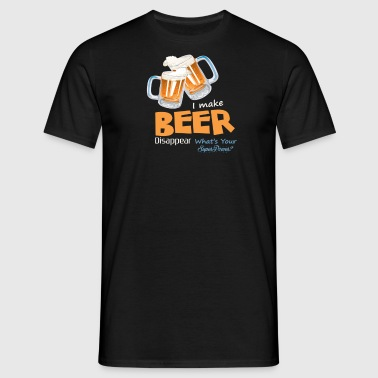 BIER | Wat is uw super macht? - Mannen T-shirt