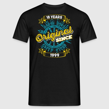 18th birthday 1999 - Men's T-Shirt