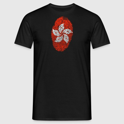HONG KONG EMPREINTE. CHINE CHINOIS - T-shirt Homme