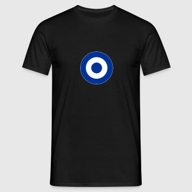 Griechenland Greece Europe Mod Target DigitalDirekt - Männer T-Shirt