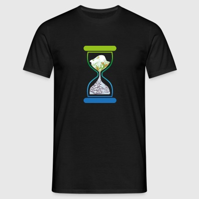 Hourglass - Men's T-Shirt