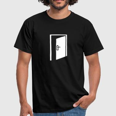 Door frame  - Men's T-Shirt