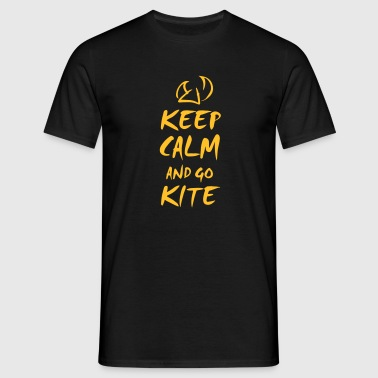 keep calm and kite - T-shirt Homme