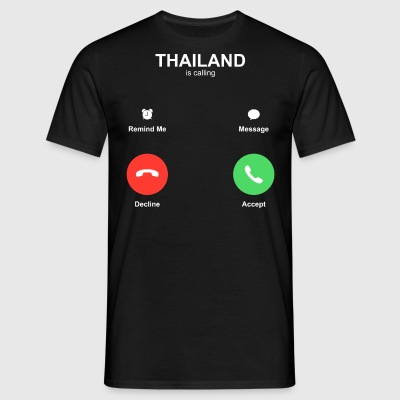 THAILAND is calling - Männer T-Shirt