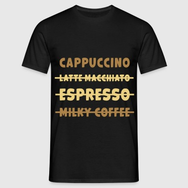 JUSTE CAPPUCCINO / AMOUR CAPPUCCINO - T-shirt Homme