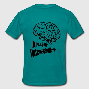 Use your Brain - Männer T-Shirt