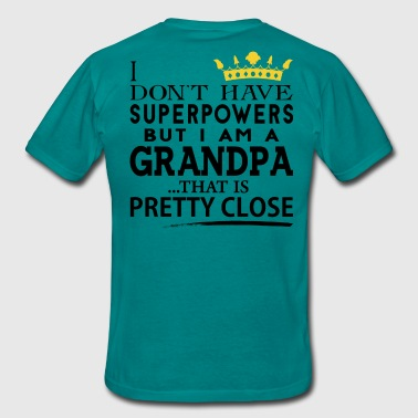 SUPER GRANDPA! - Men's T-Shirt