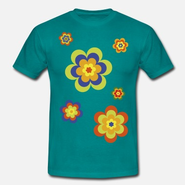 Flower Power limited edition 3a flower power - Mannen T-shirt